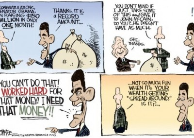 obama cartoon share the wealth - Copy